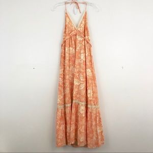 Anthropologie Odille Floral Maxi Dress (C4)